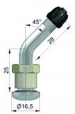 Вентиль латунный б/к  42729-68